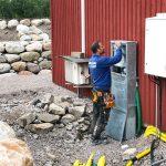 Pågående bygge i Sotenäs